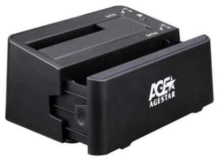 Док-станция для HDD AgeStar 3UBT3-6G SATA III Черный