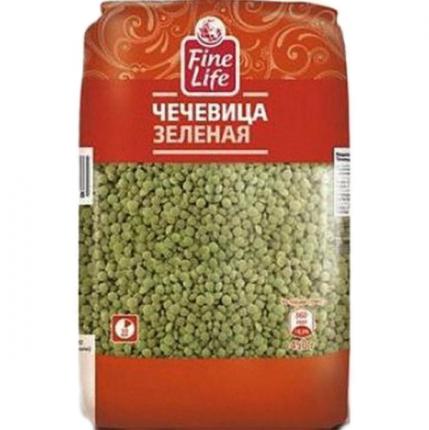 Чечевица Fine Life зеленая продовольственная 450 г