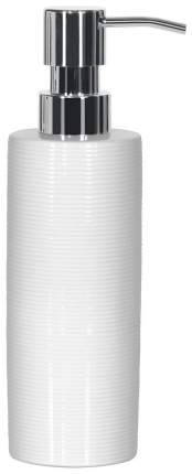 Дозатор для мыла Spirella Tube Ribbed Белый