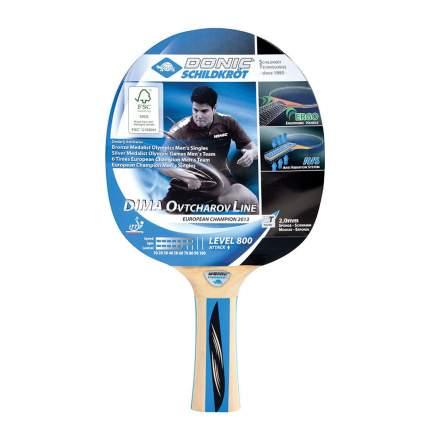 Ракетка для настольного тенниса Donic 754414 Ovtcharov 800, черная