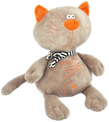 Мягкая игрушка Оранж Кот Батон серый 40 см