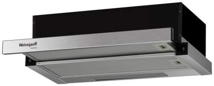 Вытяжка встраиваемая Weissgauff TEL 06 2M IX Silver/Black