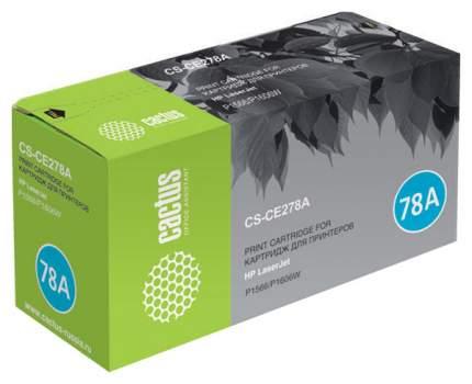 Картридж для лазерного принтера Cactus CS-CE278A черный