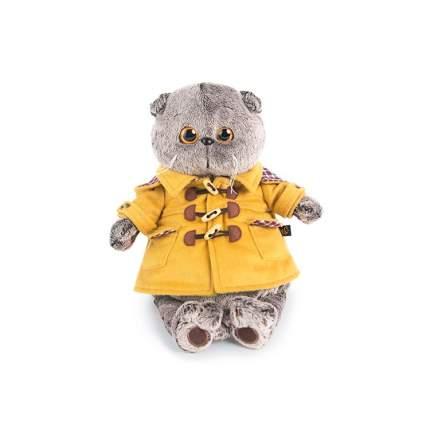 Мягкая игрушка BUDI BASA Кот Басик в дафлкоте 25 см