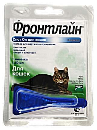 Средство от блох для домашних животных Merial Капли Фронтлайн Спот Он для кошек