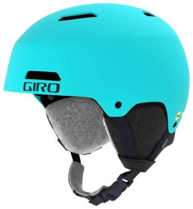 Горнолыжный шлем Giro Ledge 2019, голубой, M