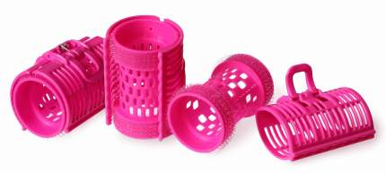 Бигуди SILVA пластмассовые d 3,0*6,2 см по 4 шт