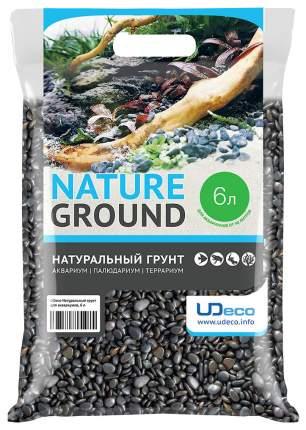 Грунт для аквариума UDeco River Dark 6-8 мм 6 л