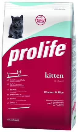 Сухой корм для котят Prolife Kitten, курица и рис, 0,4кг
