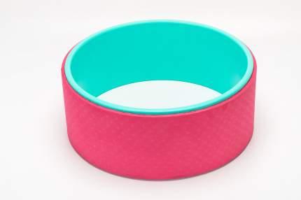 Колесо для йоги Bradex Асана, зеленый/розовый