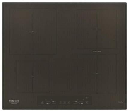 Встраиваемая варочная панель индукционная Hotpoint-Ariston KIA 641 B B (CF) Black