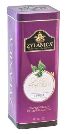 Чай черный листовой Zylanica batik design supreme 100 г