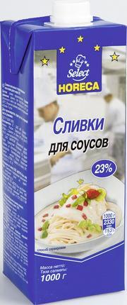 Сливки Horeca для соусов 23% 1000 г