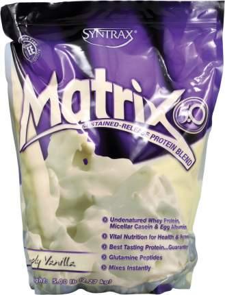 Протеин Syntrax Matrix 5.0 2270 г Simply Vanilla