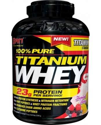 Протеин SAN 100% Pure Titanium Whey 2240 г Tropical Berry