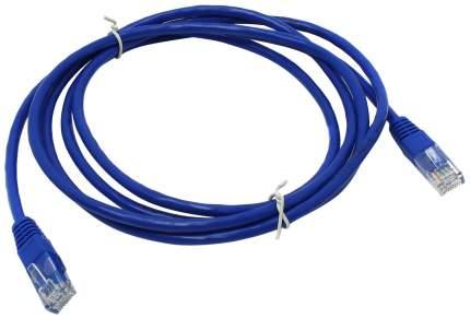 Сетевой кабель ABC UTP 5e RJ-45, 26AWG/0,40мм, CCAW (2м), синий