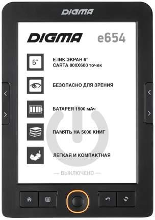 Электронная книга Digma E654 Graphite
