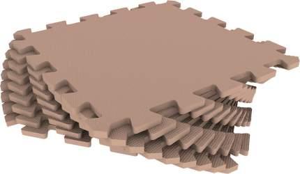 Развивающий коврик Eco Cover 33*33 см бежевый