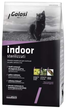 Сухой корм для кошек Golosi Indoor Sterilised, для домашних стерилизованных, курица, 20кг