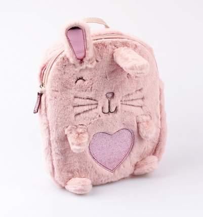 Рюкзак детский Котофей для девочки Зайка розовый
