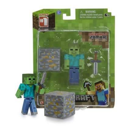 Фигурка Jazwares Games: Minecraft: Zombie pack