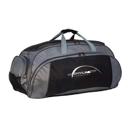 Спортивная сумка Polar 6064/6 серая