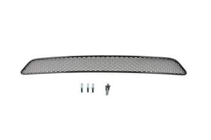 Сетка на бампер внешняя для LIFAN X60 2011-2019, черная, 20 мм сота