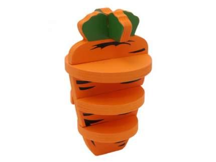 """Игрушка для грызунов Rosewood """"3D Морковь"""""""