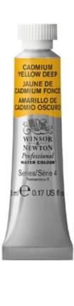 Акварель Winsor&Newton Professional кадмий желтый густой 5 мл