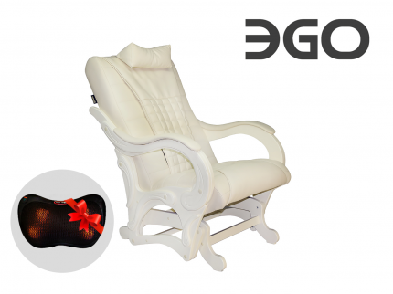 Массажное Кресло-глайдер Ego Balance Eg-2003 Комбинированная Кожа, Стандарт