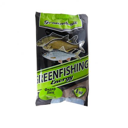 Прикормка Green Fishing Energy Фидер Лещ 1 кг