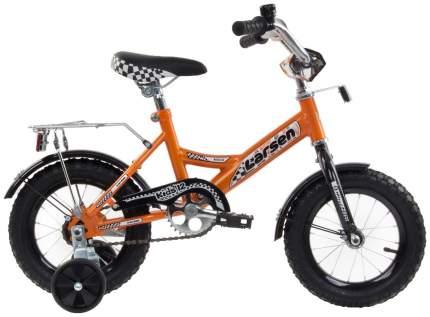 Велосипед Larsen Kids 12 2016 Оранжевый