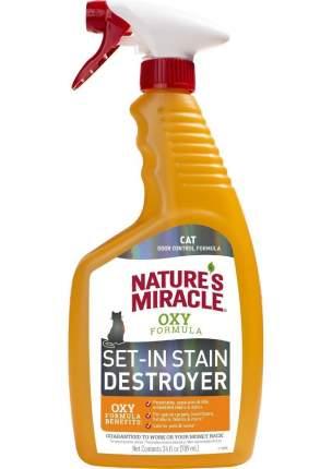Уничтожитель пятен и запахов от кошек 8 IN 1 NM Orange-Oxy спрей 709мл