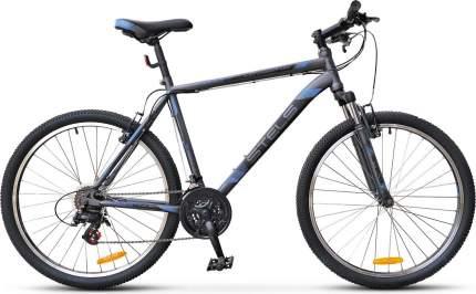 "Велосипед Stels Navigator 500 MD 26 F010 2019 16"" серо синий"