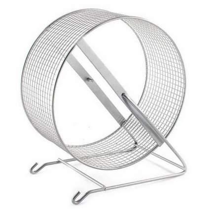 Беговое колесо для грызунов Дарэлл металл, 9 см