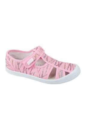 Текстильная обувь MURSU, цв.розовый, 30 р-р.