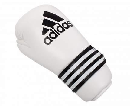 Перчатки полуконтакт Adidas Semi Contact Gloves белые XS