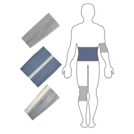 Комплект бандажей EcoSapiens Здоровье с шерстью овцы размер XXL