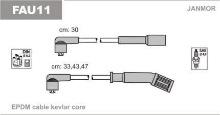 Комплект проводов зажигания JANMOR FAU11