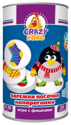 Настольная игра Vladi Toys Варежки-носочки наперегонки VT8020-01