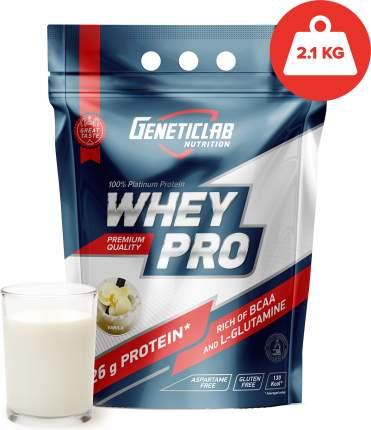 Протеин GeneticLab Nutrition Whey Pro, 2100 г, vanilla