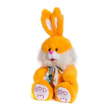 Мягкая игрушка Зайчик с бантиком 60 см Нижегородская игрушка См-443-5