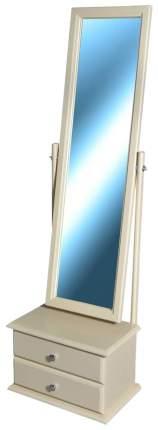 Зеркало напольное Мебелик 346 46х150 см, слоновая кость