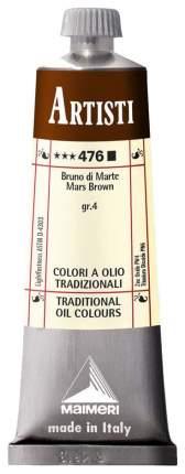 Масляная краска Maimeri Artisti марс коричневый 40 мл