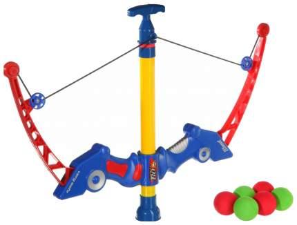 Игрушечный арбалет с мишенью и мягкими пулями Снайпер, 37 см Joy Toy