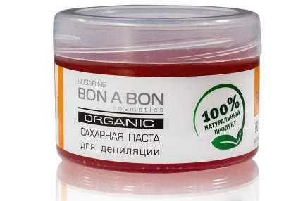 Паста для шугаринга Bon A Bon средняя, 300 г, малиновая