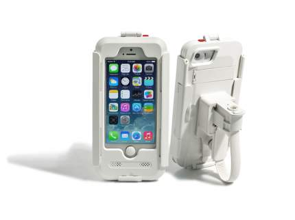 Чехол держатель AVEL для iPhone 5/5S/SE на велосипед и мотоцикл DRC5IPHONE White