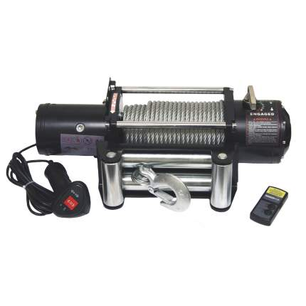 HEW-8500 X Power 12В лебедка электрическая