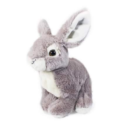 Мягкая игрушка Teddykompaniet Зайчик, сидящий, серый, 25 см,2576