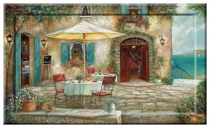 Картина с дорисовкой на раме 109х69 см Hoff Отель Casa dAmore
